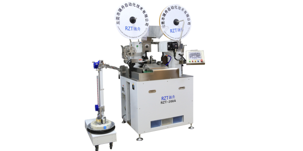 东莞瑞舟高精度全自动双头端子机RZT-208A
