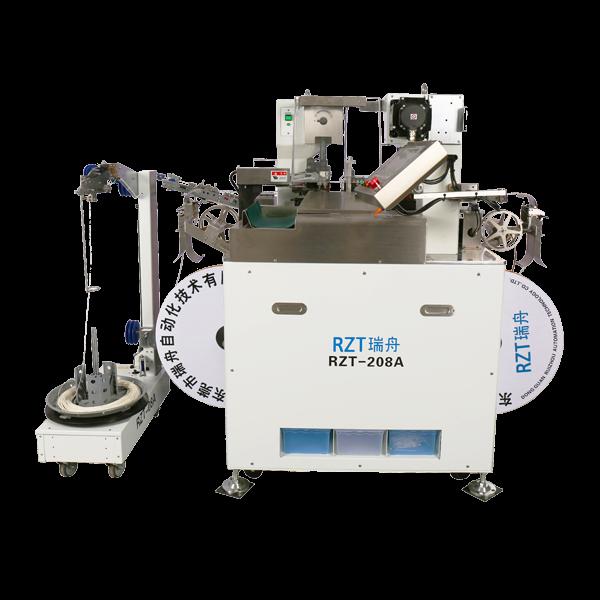东莞瑞舟自动化--RZT-208A全自动端子机-压接高度幕屏数字设定
