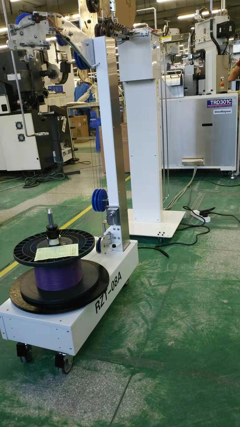 全自动智能放线机适配日本Shinmaywa的TRD301全自动端子压着机