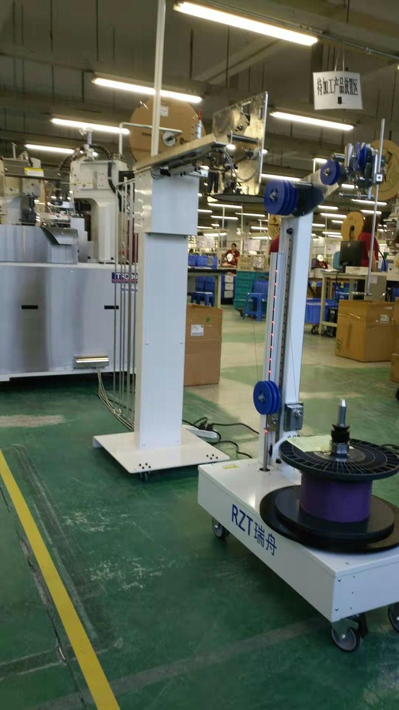 全自动智能放线机适配日本新明和TRD301全自动端子压着机