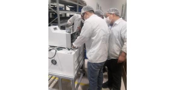 管状端子机已在天津客户工厂投入生产